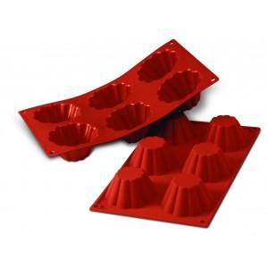 Siliconeflex 6 briochettes 7,9 cm