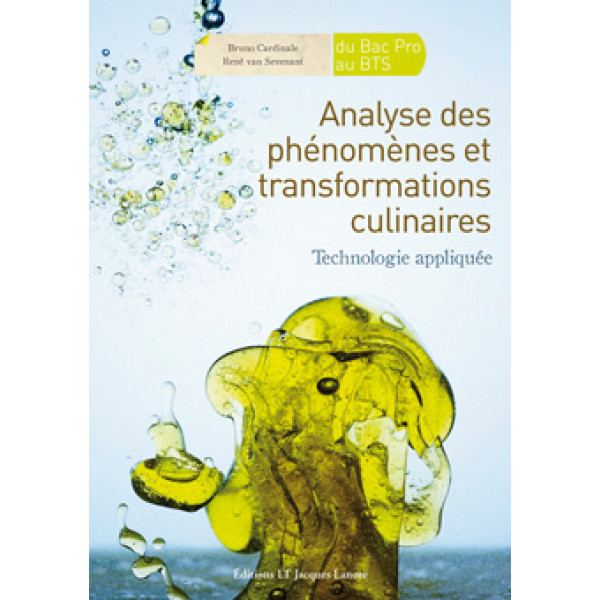 Analyse des phénomènes culinaires et transformations culinaires