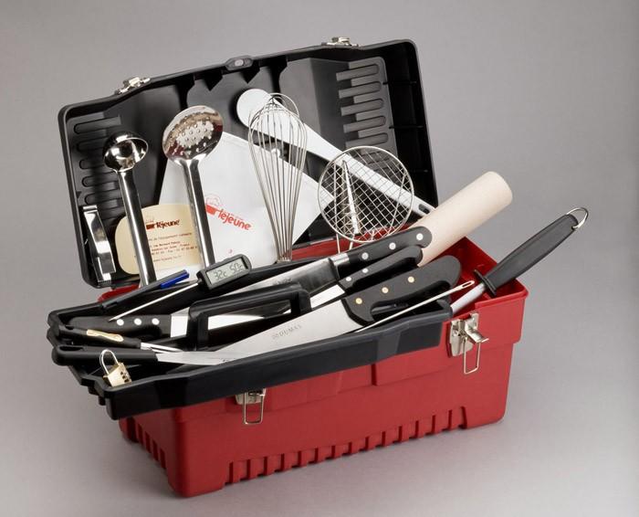 Mallette plastichef 24 pi ces traiteur - Malette de couteaux pradel excellence 25 pieces ...