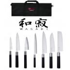 Trousse Lejeune + 7 couteaux WASABI BLACK