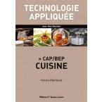 Technologie appliquée CAP/BEP Cuisine