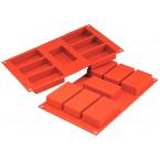 Siliconeflex 7 rectangles 8,7 cm