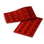 Siliconeflex 15 mini madeleines 4,4 cm