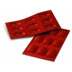 Siliconeflex 9 madeleines 6,8 cm
