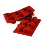 Siliconeflex 6 coeurs 6,5 cm