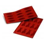 Siliconeflex 12 barquettes 7,2 cm