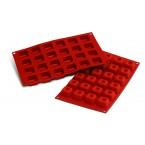Siliconeflex 24 savarins carres 3,5 cm