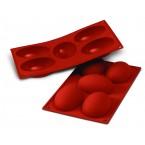 Siliconeflex 5 demi oeufs 10,2 cm