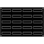 Pavoflex 20 bandes vrillées 12 cm