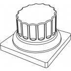 Pavoflex 24 colonnes César 7 cm