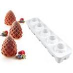 Tortaflex  Plaque 5 Moules pommes de pin
