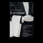 Dictionnaire de restaurant