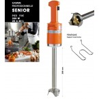 Mixer Dynamic Senior Pied monobloc