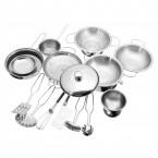 Set batterie de cuisine enfants 13 pièces