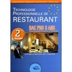 Techno Restaurant Bac Pro - 2ème année
