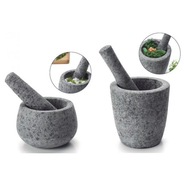 Mortier + pilon Granit