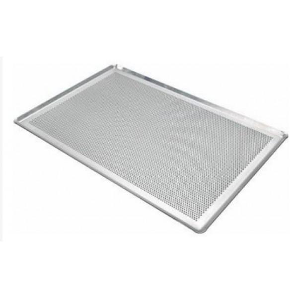 Plaque aluminium perforée  bord pincé