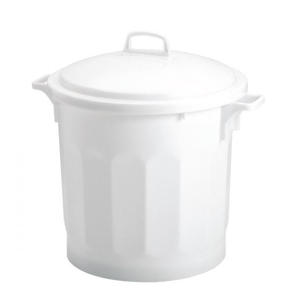 Fourre-tout blanc 75L