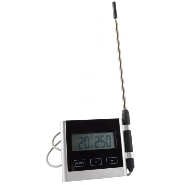 Thermomètre digital à câble 250°C cuisson à coeur