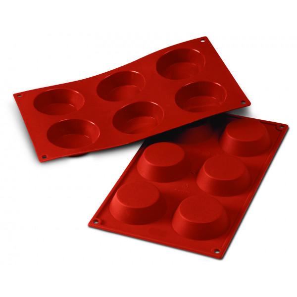 Siliconeflex 6 tartelettes 7cm
