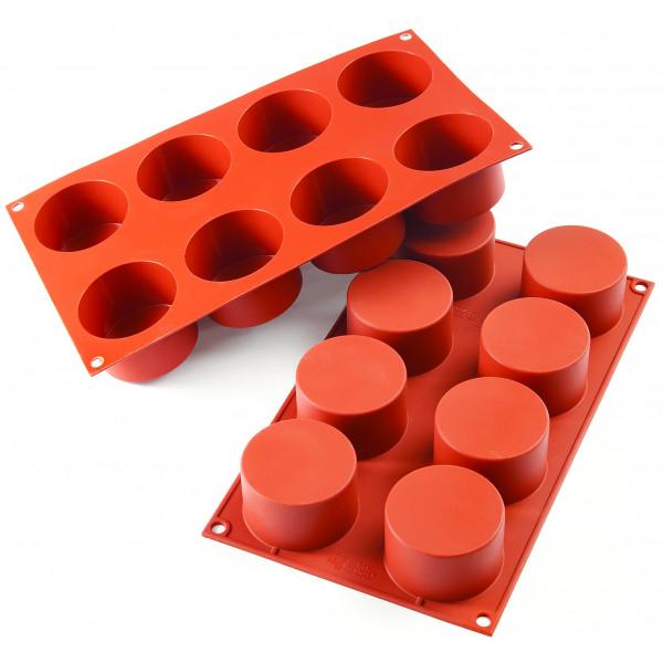 Siliconeflex 8 cylindres 6,3 cm