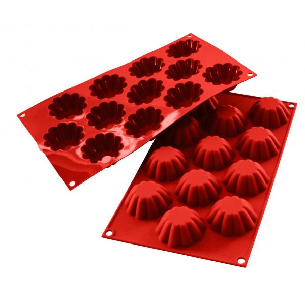 Siliconeflex 12 mini brioches 5,8 cm