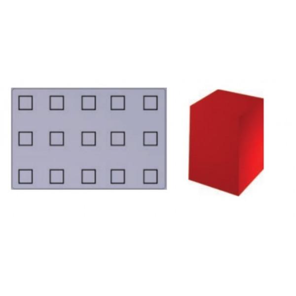 Plaque SiliPremium 60x40 15 carrés haut