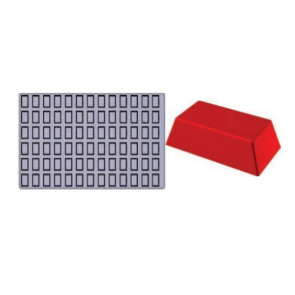 Plaque SiliPremium 60x40 78 mini financiers