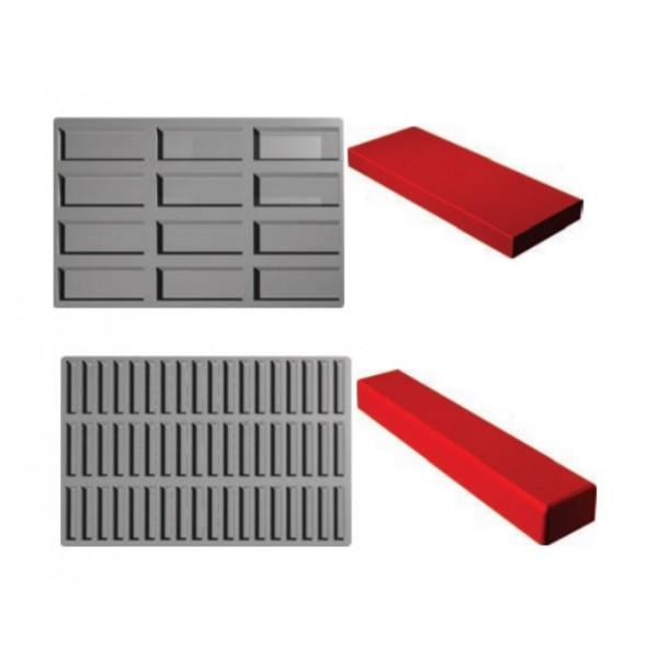 Plaque SiliPremium 60x40 Inserts rectangle