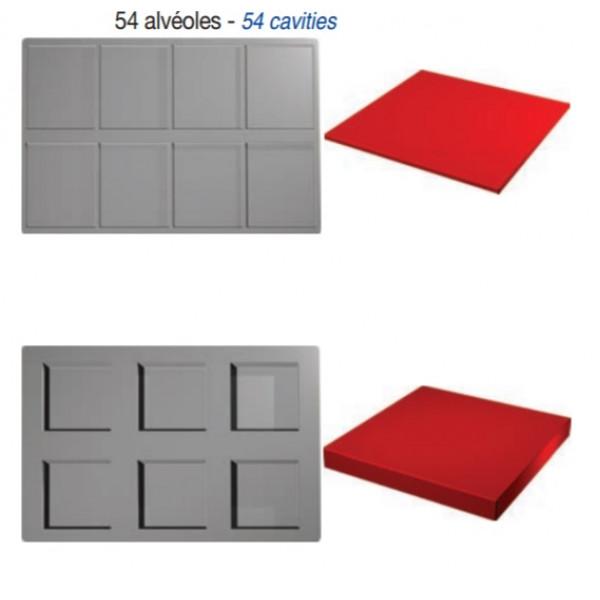 Plaque SiliPremium 60x40 Inserts carrés