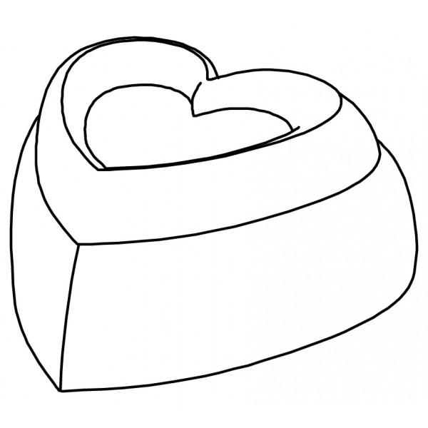 Pavoflex 24 cœurs love 7,8 cm