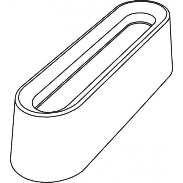 Pavoflex 72 mini bandes creuses 6 cm