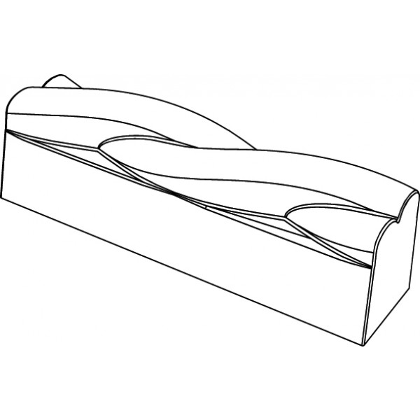Pavoflex 20 bandes twist 12,2 cm