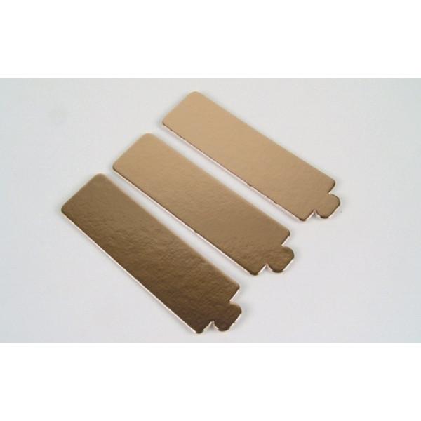 Languettes or pour bandes 13 cm