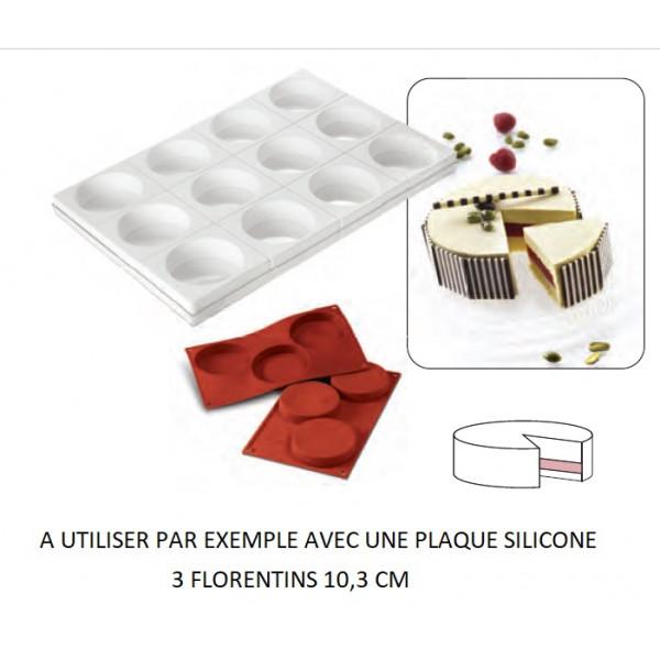 Tortaflex 12 empreintes 11,5cm