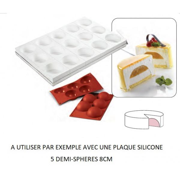 Tortaflex 15 empreintes 10cm