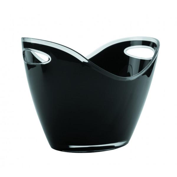 Mini vasque acrylique Noir