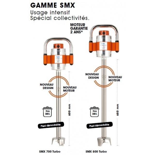 Mixer SMX TURBO Pied démontable