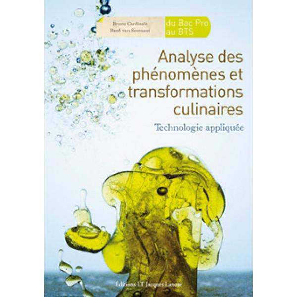 Analyse des phénomènes culinaires et transformations culinaires