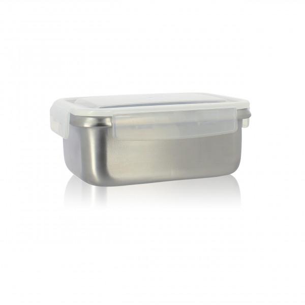 Boîte de stockage hermétique inox