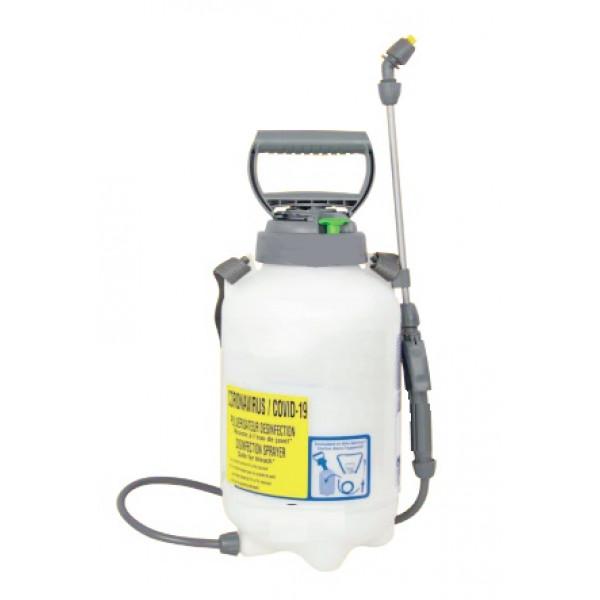 Ce pulvérisateur désinfection 5L résiste à l'eau de javel