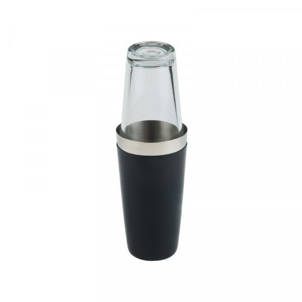 Shaker Boston noir / verre