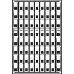 Pavoflex 72 mini bandes ondulées 6 cm