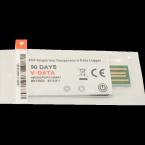 Thermomètre enregistreur  USB USAGE UNIQUE  30/60/90j