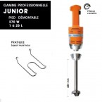Mixer Junior Plus Pied démontable