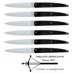 Couteau Steak  Design Arbalète