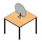 ECRAN PROTECTION de table plexi