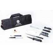 Trousse grand modele cuisinier 10 outils gamme standard lejeune avec bandouliere-1