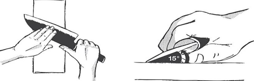 comment-affuter-un-couteau-avec-lames-asymétriques-avec-une-pierre-japonaise